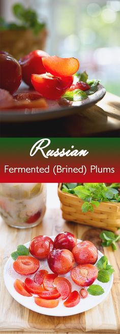 While I'm waiting for farmers market apples to cost less than a baby panda, I decided to try a recipe for Russian brined plums that I've had in the back of my mind for a while. The turning point was getting hold of a whole bunch of plums that were good but not great. A...Read More »