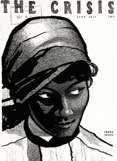 Beautiful! Franks Walts, The Crisis magazine cover, 1917. #naacp #illustration #design #vintage #blackhistorymonth