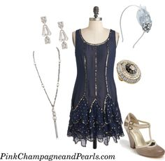 1920s party outfit
