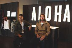 Kahana + Billy the Co-founders of Aloha Beach Club