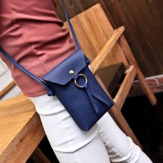Women Stylish 5.5inch Phone Bag Becket Shoulder Bag Crossbody Bags