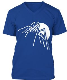 Spider True Royal T-Shirt Front