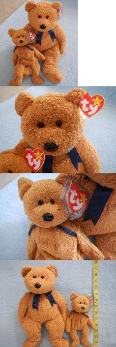 Beanie Buddies 19206  Ty Beanie Buddy And Baby Set - Fuzz The Bear - July  23 Birthday - Gorgeous Bears -  BUY IT NOW ONLY   14.99 on eBay! dc54f5e26b45