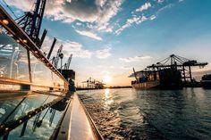 Hamburg Hafen Sommer von Stephan Bestmann