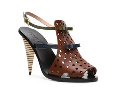 e1d353df497 Fendi Leather Bow Sandal of course I love these ...  600! Bow Sandals