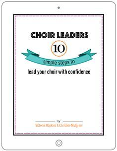 Pick 'n' mix warm-ups for choirs - Total Choir Resources                                                                                                                                                      More