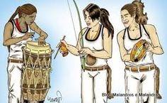 Resultado de imagem para capoeira feminina