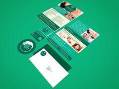 Identidade visual desenvolvida em tons de verde. #IdentidadeVisual #Branding #Green #LightGreen #BusinessCard #CartãoDeVisita  #Flyer #Logo #Panfleto #Acupuncture #Auriculotherapy #Acupuntura #Auriculoterapia #Creative #GraphicDesign #GuaráDesign
