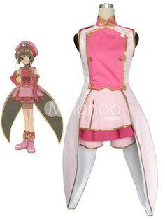 Beautiful Card Capture Sakura Tomoe Shougakkou Sakura Kinomoto Girls Cosplay Costume. See More Cardcaptor Sakura Cosplay at http://www.ourgreatshop.com/Cardcaptor-Sakura-Cosplay-C828.aspx