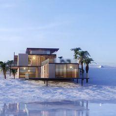 Maison individuelle à ossature bois - Vue 2: Maisons de style de style Moderne par POINT R architecture