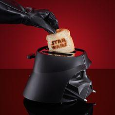 Star Wars Toaster – Eat Darth Vader For Breakfast #geekfamous #starwars