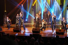 This is from the Straight No Chaser concert at @BvilleCommunityCtr!! Such a great group!