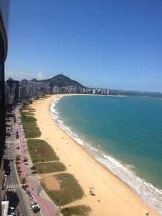 Praia da Costa em Vila Velha, ES
