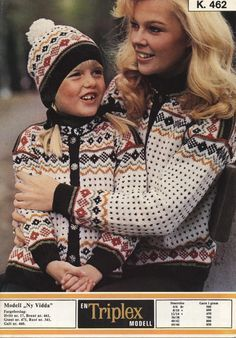 Norwegian Knitting, Knit Crochet, Crochet Hats, Color Combinations, Knitting Patterns, Jumpers, Knits, How To Make, Inspiration