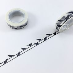 Birds On A Wire Paper Tape. This tape is perfect to use on any of your paper… --> If you're looking for the top-rated coloring books and supplies including colored pencils, watercolors, gel pens and drawing markers, please visit http://ColoringToolkit.com. Color... Relax... Chill.