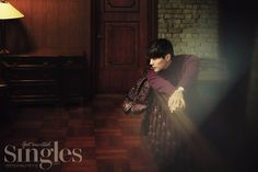 Ji Hyun Woo - SIngles Magazine October Issue '14