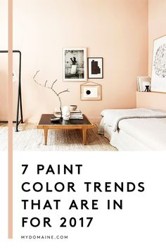 What color should you paint your room? Try out one of the next big paint colors that will be huge in interior design in 2017: