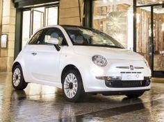 Fiat 500 Sonderausgabe – inspiriert von Guerlain's La Petite Robe Noire