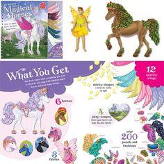 dress horses and fairies $16