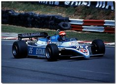 Eddie Cheever Talbot Ligier Matra F1 British GP Brands Hatch 1982 by Antsphoto, via Flickr