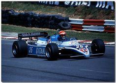 Eddie Cheever Talbot Ligier Matra F1 British GP Brands Hatch 1982 by Antsphoto…