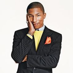 Pharrell Williams  =)