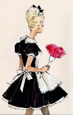 Barbie Illustration by Robert Best