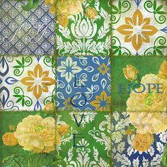 I uploaded new artwork to fineartamerica.com! - 'Boho Patchwork-e' - http://fineartamerica.com/featured/boho-patchwork-e-jean-plout.html via @fineartamerica