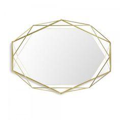 Umbra 358776-165 prisma miroir laiton