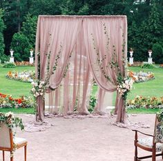 Top 5 Unique and Breathtaking Wedding Backdrop Ideas - Wedding Arch Ceremony Arch, Wedding Ceremony Decorations, Outdoor Ceremony, Wedding Centerpieces, Backdrop Wedding, Wedding Arches, Outdoor Stage, Reception Backdrop, Wedding Ceremonies