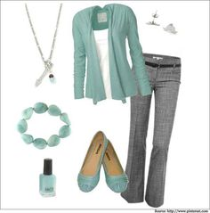 Cute for work! stitch fix ideas lässige büromode, graue hose What Is Business Casual, Business Casual Attire, Business Outfits, Business Professional, Business Fashion, Business Formal, Women's Professional Attire, Office Attire Women Casual, Business Casual Shoes Women