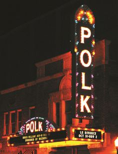 The historic Polk Theatre in Lakeland, Florida opened in 1928 when 2,000 of the 2,200 tickets available for the afternoon matinee sold out in one hour!  Today the theatre is operated by a non-profit group determined to keep its beauty alive and well.