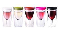 The wine sippy cup for picnics: frivolous, practical and genius all at once.