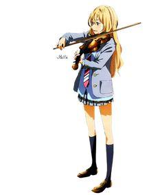 Kaori Miyazono (3) Render by Stella1994x