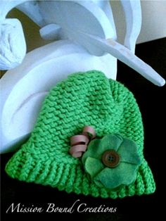 Loom Knit Hats - EASY