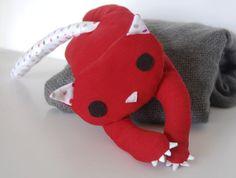 Long legged cat - cotton plush toy. €35.00, via Etsy.
