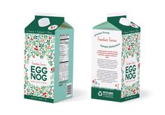 Finkelstein Farms Egg Nog on Packaging of the World - Creative Package Design Gallery