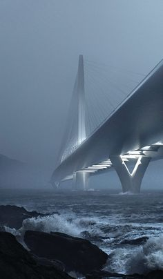 Zaha Hadid Architects has been announced as winner of the Danjiang Bridge International Competition in Taiwan. A coll...