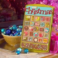Handmade Happy Christmas Advent Calendar