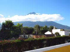 Guatemala Volcano Aqua