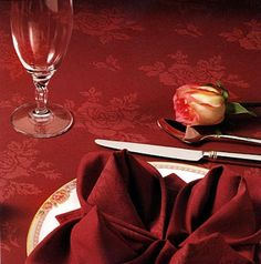 A premium table linen fabric which combines a soft, luxurious feel with durability that surpasses cottons and blends. Embassy also offers excellent color retention, minimal shrinkage so it holds its shape and excellent soil and odor release. Many sizes available. Call us at 1-800-877-4667 for pricing on this product.