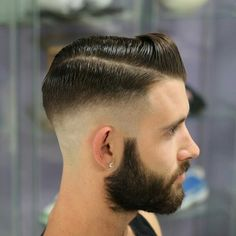 Slick, Disconnected, Bearded Fade