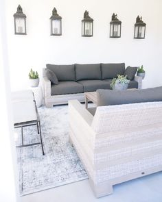 Get inspired with coastal room ideas and photos for your home refresh or remodel. Wayfair offers thousands of design ideas for every room in every style. Modern Rustic, All Modern, Yard Design, House Design, Outdoor Cabana, Rustic Outdoor, Outdoor Spaces, Couch, Interior Design