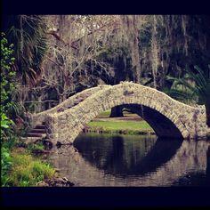 City Park - New Orleans.  HUGE park!  There's even an amusement park inside!