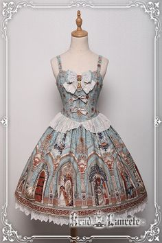 Krad Lanrete -Barbe Bleue- Vintage Classic Lolita JSK Version I