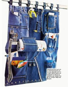 Jeans Organizer - Anleitung