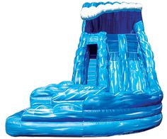 18 Dual Lane Monster Wave Inflatable Water Slide w/ Pool. This is a very popular waterslide!