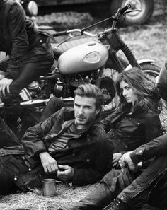 Mr David Beckham für Belstaff