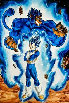 This is badass art! Dragon Ball Gt, Dragon Ball Image, Anime Echii, Anime Art, Anime Negra, Ball Drawing, Dbz Characters, Illustrations, Like4like