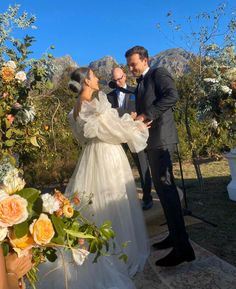 What a dress.⁣ What a bride.⁣ What a wedding.⁣ ⁣ We are besotted with the whimsical and romantic nature of dress paired with such stunning blooms, against the backdrop of these acclaimed South African views. Wedding Goals, Our Wedding, Wedding Planning, Wedding Ceremony, Do It Yourself Wedding, Marry You, Here Comes The Bride, Real Weddings, Summer Weddings